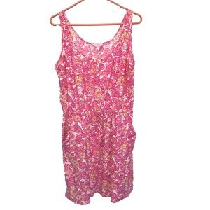 Lilly Pulitzer Chum Bucket pink dress XL